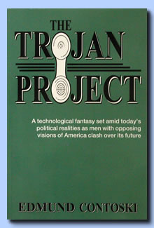 The Trojan Project is a technological fantasy set amid today's government and political realities as men with opposing visions of America clash over its future.